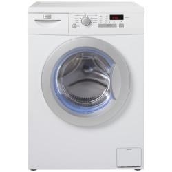 Lave-linge Haier HW80-1203D - Machine � laver - pose libre - largeur : 59.5 cm - profondeur : 65 cm - hauteur : 85 cm - chargement frontal - 59 litres - 8 kg - 1200 tours/min - blanc