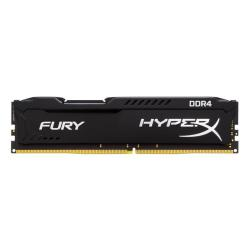 Memoria RAM Gaming HyperX - Fury black