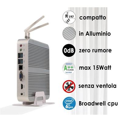 Nilox - SFF-PC I3 RAM 4GB HD500GB WIN10