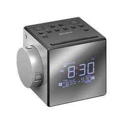 Radio Sony ICF-C1PJ - Radio-réveil - 100 mW - argenté(e)