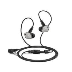 Oreillettes Sennheiser IE 80 - Casque - convertible - jack 3,5mm - isolation acoustique - pour Apple iPad 1; 2; iPhone 3G, 3GS, 4, 4S; iPod classic; iPod nano; iPod shuffle; iPod touch