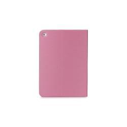 Coque TUCANO Filo Hard Folio - Protection à rabat pour tablette - cuir écologique - Fuchsia - pour Apple iPad Air 2