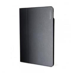 Coque TUCANO Giro - Protection à rabat pour tablette - cuir écologique - noir - pour Apple iPad Air 2