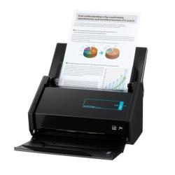 Scanner Fujitsu ScanSnap iX500 - Scanner de documents - Recto-verso - 216 x 863 mm - 600 ppp x 600 ppp - jusqu'à 25 ppm (mono) / jusqu'à 25 ppm (couleur) - Chargeur automatique de documents (50 feuilles) - USB 3.0, Wi-Fi