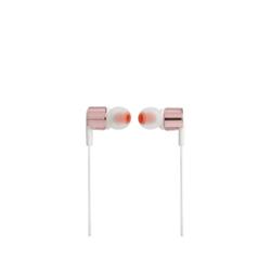 JBL T210 - Écouteurs avec micro - intra-auriculaire - jack 3,5mm - or rose