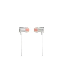 JBL T290 - Écouteurs avec micro - intra-auriculaire - jack 3,5mm - argenté(e)