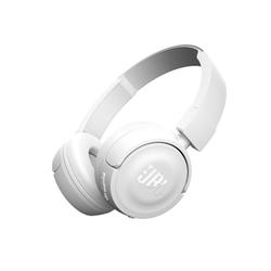 JBL T450BT - Casque avec micro - sur-oreille - sans fil - Bluetooth - blanc