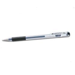 Stylo Pentel Hybrid Gel Grip - Roller - permanent - argent - encre gel - 0.8 mm - fin