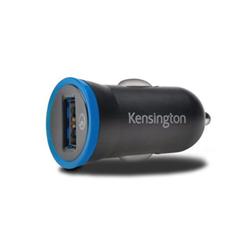 Chargeur Kensington PowerBolt Car Charger - Adaptateur allume-cigare (voiture) - 2.4 A (USB (alimentation uniquement)) - noir