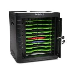 Chargeur Kensington Charge & Sync Cabinet, Universal Tablet - Meuble de rangement pour 10 tablettes - noir