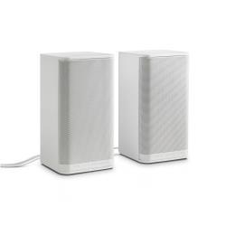 haut-parleur sans fil HP S5000 - Haut-parleurs - pour PC - 4 Watt (Totale) - blanc - pour HP 110, 19, 20, 21, 22, 251, 450; Pavilion TouchSmart 21; Slimline 450; x360