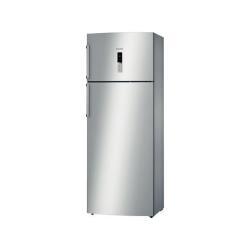 Réfrigérateur Bosch KDN46AI22 - Réfrigérateur/congélateur - pose libre - largeur : 70 cm - profondeur : 63 cm - hauteur : 185 cm - 369 litres - congélateur haut - classe A+ - inox