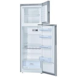 Réfrigérateur Bosch Confort KDV33VL32 - Réfrigérateur/congélateur - pose libre - largeur : 60 cm - profondeur : 65 cm - hauteur : 176 cm - 300 litres - congélateur haut - Classe A++ - inox