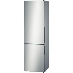 Réfrigérateur Bosch KGE39BL41 - Réfrigérateur/congélateur - pose libre - largeur : 60 cm - profondeur : 65 cm - hauteur : 201 cm - 339 litres - congélateur bas - Classe A+++ - finition inox