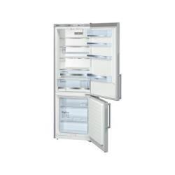Réfrigérateur Bosch KGE49BI40 - Réfrigérateur/congélateur - pose libre - largeur : 70 cm - profondeur : 65 cm - hauteur : 201 cm - 413 litres - congélateur bas - Classe A+++ - inox