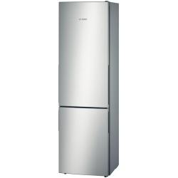 Réfrigérateur Bosch KGN36VL31 - Réfrigérateur/congélateur - pose libre - largeur : 60 cm - profondeur : 65 cm - hauteur : 186 cm - 287 litres - congélateur bas - Classe A++ - inoxLook