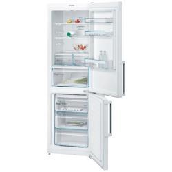Réfrigérateur Bosch Serie 4 KGN36XW35 - Réfrigérateur/congélateur - pose libre - largeur : 60 cm - profondeur : 66 cm - hauteur : 186 cm - 324 litres - congélateur bas - Classe A++ - blanc