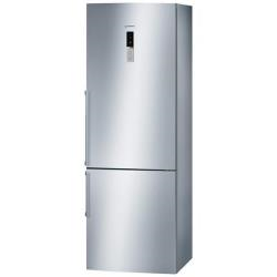 Réfrigérateur Bosch Comfort KGN49AI22 - Réfrigérateur/congélateur - pose libre - largeur : 70 cm - profondeur : 65 cm - hauteur : 200 cm - 389 litres - congélateur bas - classe A+ - inox