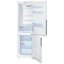 Réfrigérateur Bosch KGV36UW20S - Réfrigérateur/congélateur - pose libre - largeur : 60 cm - profondeur : 65 cm - hauteur : 186 cm - 309 litres - congélateur bas - classe A+ - blanc