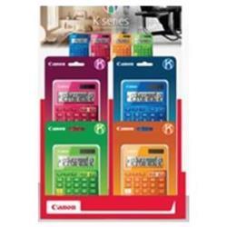 Calculatrice Canon X MARK II - Calculatrice financière - 12 chiffres - panneau solaire - blanc