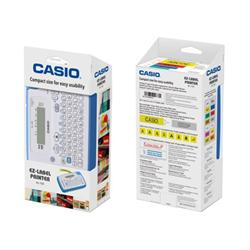 Étiqueteuse Casio KL-130 - Étiqueteuse - monochrome - transfert thermique - Rouleau (1,8 cm) - 200 ppp - jusqu'à 6 mm/sec - impression par 3 lignes