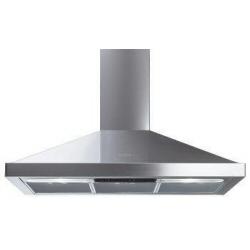 Hotte Smeg Cucina Selection KSED72X - Capot - hotte décorative - largeur : 70 cm - profondeur : 50 cm - evacuation & recyclage - inox
