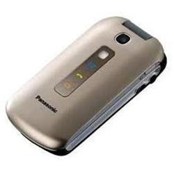 Téléphone portable Panasonic KX-TU349 - Téléphone mobile - microSDHC slot - GSM - 240 x 320 pixels - TFT - 2 MP - chrome champagne