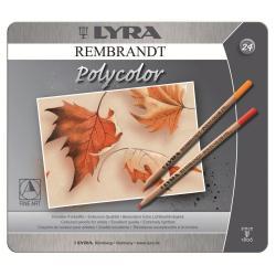 Foto Pastelli Rembrandt polycolor Lyra