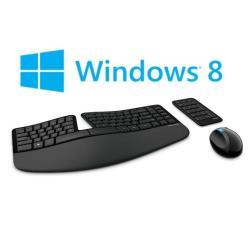 Kit tastiera mouse Microsoft - Sculpt ergonomic dsktp