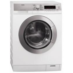 Machine à laver séchante AEG LAVAMAT 87695 WD - Machine à laver séchante - pose libre - largeur : 60 cm - profondeur : 60.5 cm - hauteur : 85 cm - chargement frontal - 9 kg - 1600 tours/min - blanc