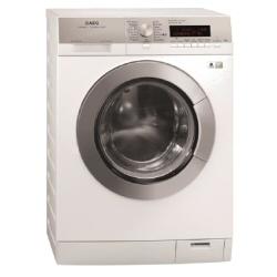 Lave-linge AEG OKO_LAVAMAT L89499FL - Machine à laver - pose libre - largeur : 60 cm - profondeur : 64 cm - hauteur : 85 cm - chargement frontal - 9 kg - 1400 tours/min - blanc