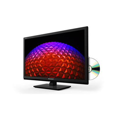 Sharp - 24 HDREADY SMART DVB-T2/C/S/S2