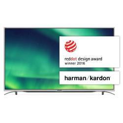 "TV LED Sharp LC-55CUF8372ES - Classe 55"" - Aquos F8370 series TV LED - Smart TV - 4K UHD (2160p) - D-LED Backlight"