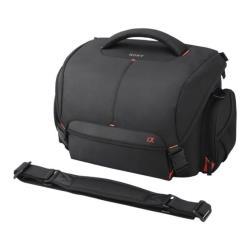 Sacoche Sony LCS-SC8 - Étui pour appareil photo numérique avec lentilles - polyester - noir - pour a3500; a5000; a58; a6000; a6300; a6500; a68; a7 II; a77 II; a7R II; a7s; a7s II; a99 II