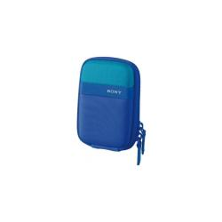 Sacoche Sony LCS-TWP/L - Étui appareil photo - nylon - bleu - pour Cyber-shot DSC-TX30, DSC-TX300, DSC-TX300V, DSC-W710, DSC-W730, DSC-WX300, DSC-WX80