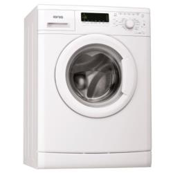 Lave-linge Ignis LEI1290 - Machine à laver - pose libre - largeur : 59.5 cm - profondeur : 55 cm - hauteur : 84.5 cm - chargement frontal - 59 litres - 9 kg - 1200 tours/min - blanc