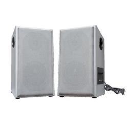 Enceinte PC Nilox LIRT506W - Haut-parleurs - pour PC - 80 Watt (Totale) - 2 voies - blanc