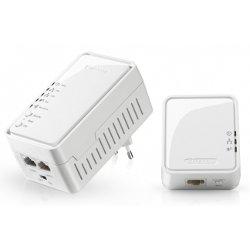 Adaptateur CPL Sitecom LN-556 WiFi Homeplug Starter Kit - Pont - HomePlug AV (HPAV) - 802.11b/g/n - Branchement mural