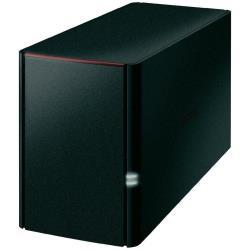 Buffalo LinkStation 220, 4TB Server di archiviazione Collegamento ethernet LAN Nero