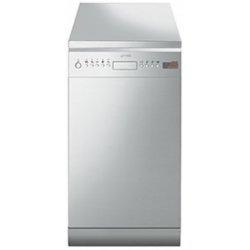 Lave-vaisselle Smeg LSA4525X - Lave-vaisselle - pose libre - largeur : 45 cm - profondeur : 60 cm - hauteur : 85 cm - inox