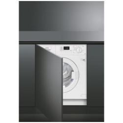 Lave-linge encastrable Smeg LST127 - Machine à laver - intégrable - Niche - largeur : 60 cm - profondeur : 58.4 cm - hauteur : 82 cm - chargement frontal - 7 kg - 1200 tours/min