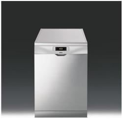 Lave-vaisselle Smeg LVS367SX - Lave-vaisselle - pose libre - largeur : 59.8 cm - profondeur : 60 cm - hauteur : 85 cm - inox