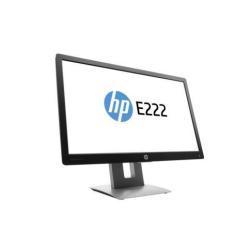"Écran LED HP EliteDisplay E222 - Écran LED - 21.5"" (21.5"" visualisable) - 1920 x 1080 Full HD (1080p) - IPS - 250 cd/m² - 1000:1 - 7 ms - HDMI, VGA, DisplayPort - noir, argenté(e)"