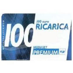 Tessera prepagata Mediaset Premium - Ricarica Taglio 100