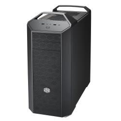 Boîtier PC Cooler Master MasterCase 5 - Tour midi - ATX - pas d'alimentation (ATX / PS/2) - gris foncé métallisé, intérieur noir - USB/Audio
