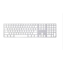 Clavier Apple Keyboard with Numeric Keypad - Clavier - USB - allemand - pour Mac mini; MacBook; MacBook Pro