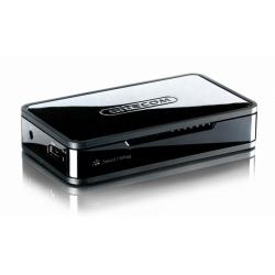 Station d'accueil multimedia Sitecom Portable TV Media Player MD-271 - Lecteur AV numérique - HDD 500 Go