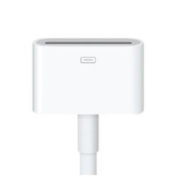 Adaptateur Apple Lightning to 30-pin Adapter - Adaptateur Lightning - Apple Dock (F) pour Lightning (M) - 20 cm - pour Apple iPad/iPhone/iPod (Lightning)