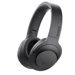 Sony h.ear on MDR-100ABN - Casque avec micro - pleine taille - sans fil - Bluetooth - NFC* - noir charbon