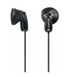 Oreillettes Sony MDR-E9LP - Casque - embout auriculaire - jack 3.5mm - noir